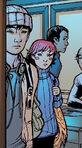 Mark Sheppard (Earth-616) and Megan Gwynn (Earth-616) from New X-Men Vol 2 5 0001