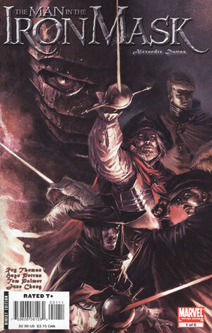 Marvel Illustrated The Man in the Iron Mask Vol 1 1