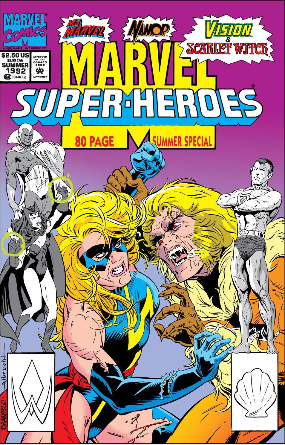 Marvel super heroes vol 2 marvel database fandom powered by wikia - Super heros fille marvel ...