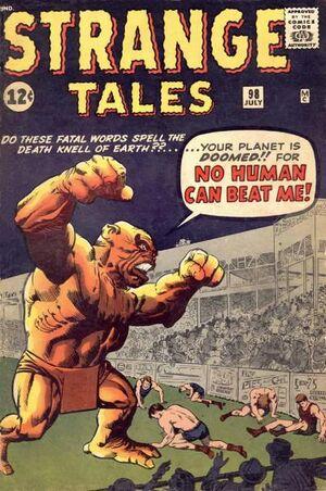 Strange Tales Vol 1 98
