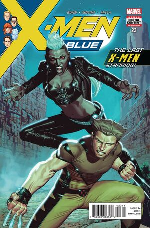 X-Men Blue Vol 1 23