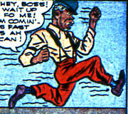 Albert Jones (Slow Motion) (Earth-616) from U.S.A. Comics Vol 1 6 0001