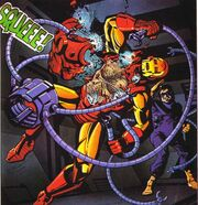 Anthony Stark (Earth-616) and Otto Octavius (Earth-616) from Marvel Fanfare Vol 1 22 001