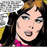 Carolyn Schist (Earth-616) from Giant-Size Man-Thing Vol 1 2
