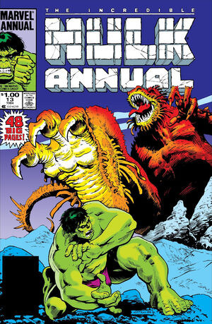 Incredible Hulk Annual Vol 1 13