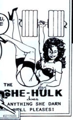 Jennifer Walters (Earth-Unknown) from Sensational She-Hulk Vol 1 50 0005