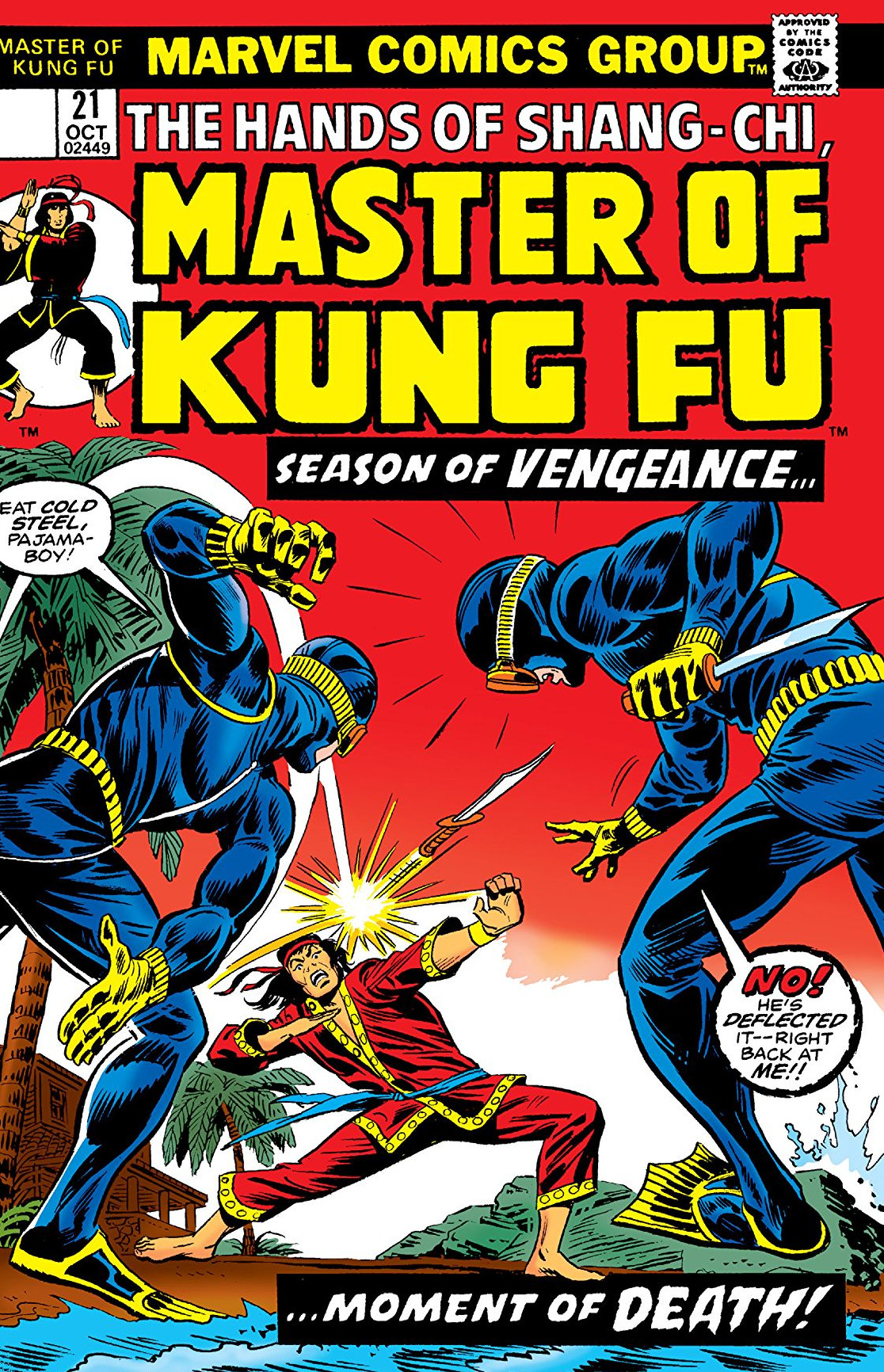 Master Of Kung Fu Vol 1 21 Marvel Database Fandom Powered By Wikia