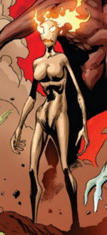 Phoenix Messiah (Demon) (Earth-616) from Uncanny X-Men Vol 2 13 0002