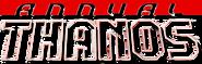 Thanos Annual (2014) Logo