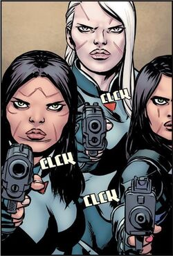The Sisters (Earth-616) from All-New Wolverine Vol 1 2 001