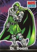 Victor von Doom (Earth-616) from Marvel Legends (Trading Cards) 0001