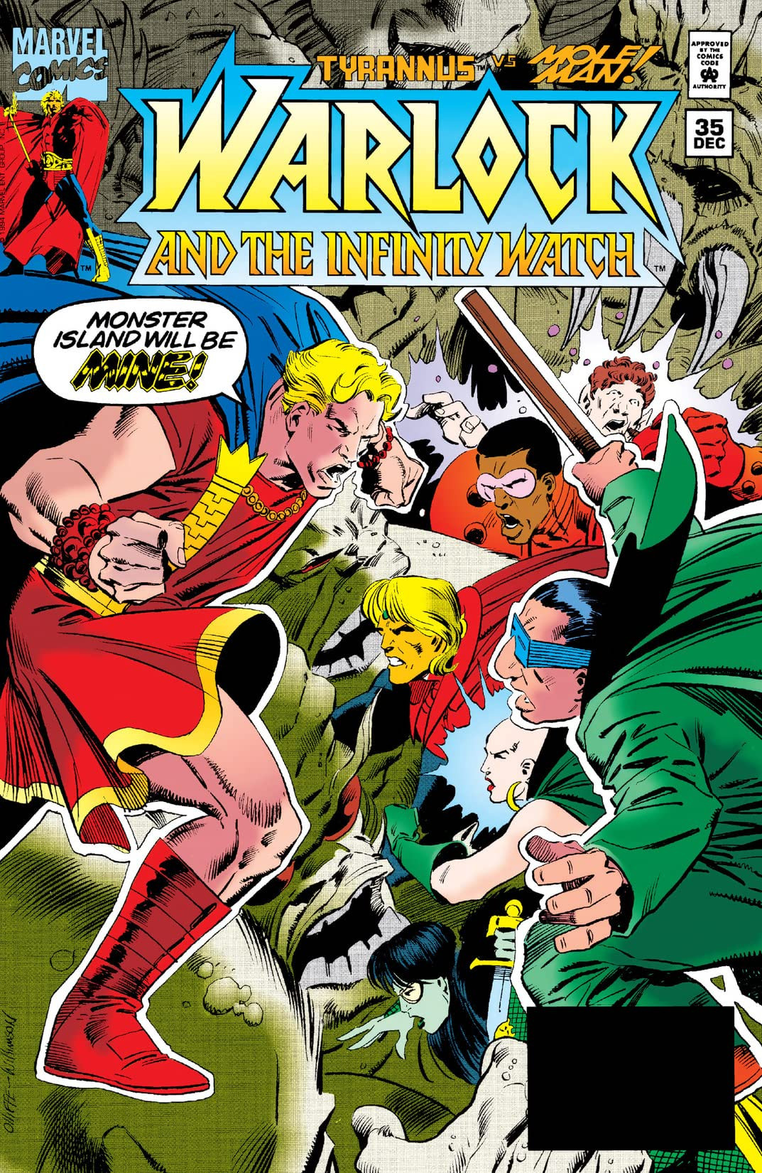Warlock and the Infinity Watch Vol 1 35
