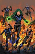 X-Men Blue Vol 1 25 Textless