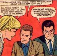 Zelda Kurtzberg, Robert Drake and Henry McCoy (Earth-616) from X-Men Vol 1 14 0001