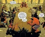 Avengers (Earth-11080), New Avengers (Earth-11080), and Avengers Academy (Earth-11080) from Marvel Universe Vs. The Avengers Vol 1 3 0001