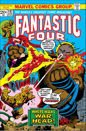 Fantastic Four Vol 1 137