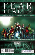 Fear Itself Vol 1 1 Comics Pro Variant