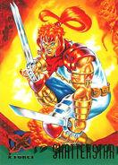 Gaveedra Seven (Mojoverse) from Ultra X-Men (Trading Cards) 1995 Set 001