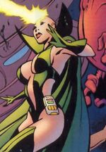 Heather Douglas (Earth-71166) from Fantastic Four The End Vol 1 6 0001