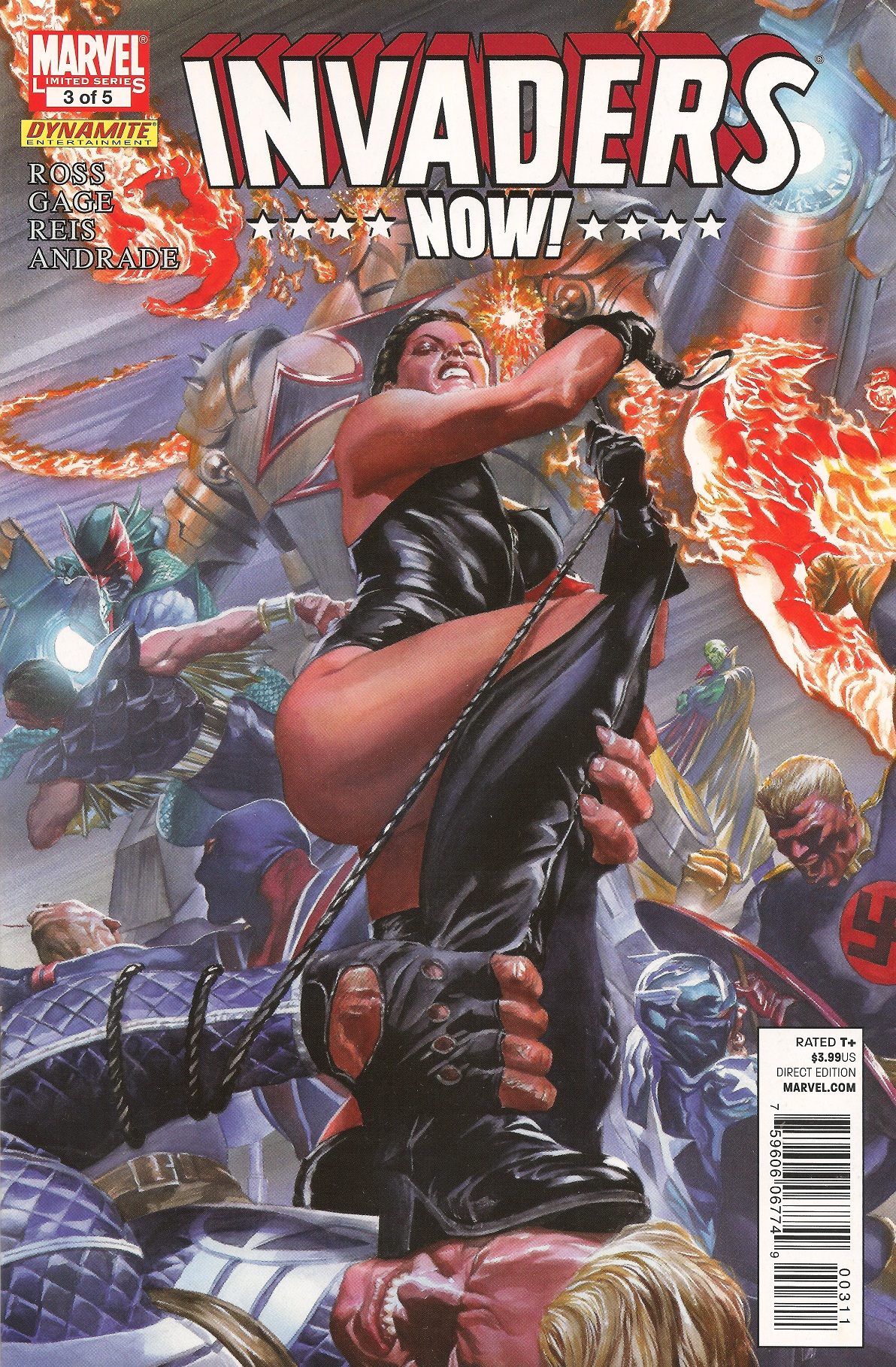 Marvel's Nazi-Killers Get Alt-History Reboot in Invaders Now | WIRED