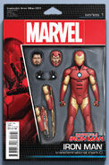 Invincible Iron Man Vol 3 1 Action Figure Variant