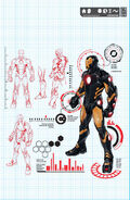 Iron Man Vol 5 1 Pagulayan Variant Textless