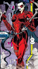 Neena Thurman (Earth-295) from X-Man Vol 1 1 0001