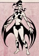 Nekra Sinclair (Earth-616) from Official Handbook of the Marvel Universe Vol 2 9