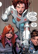 Peter Parker, Anna-May Parker and Mary Jane Watson (Earth-18119) from Amazing Spider-Man Renew Your Vows Vol 1 5 0001