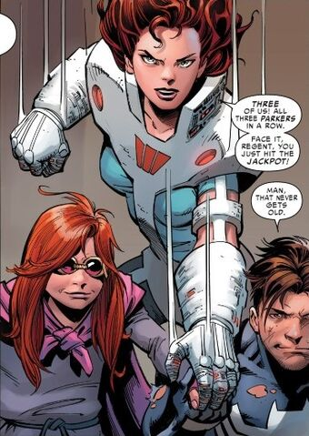 File:Peter Parker, Anna-May Parker and Mary Jane Watson (Earth-18119) from Amazing Spider-Man Renew Your Vows Vol 1 5 0001.jpg