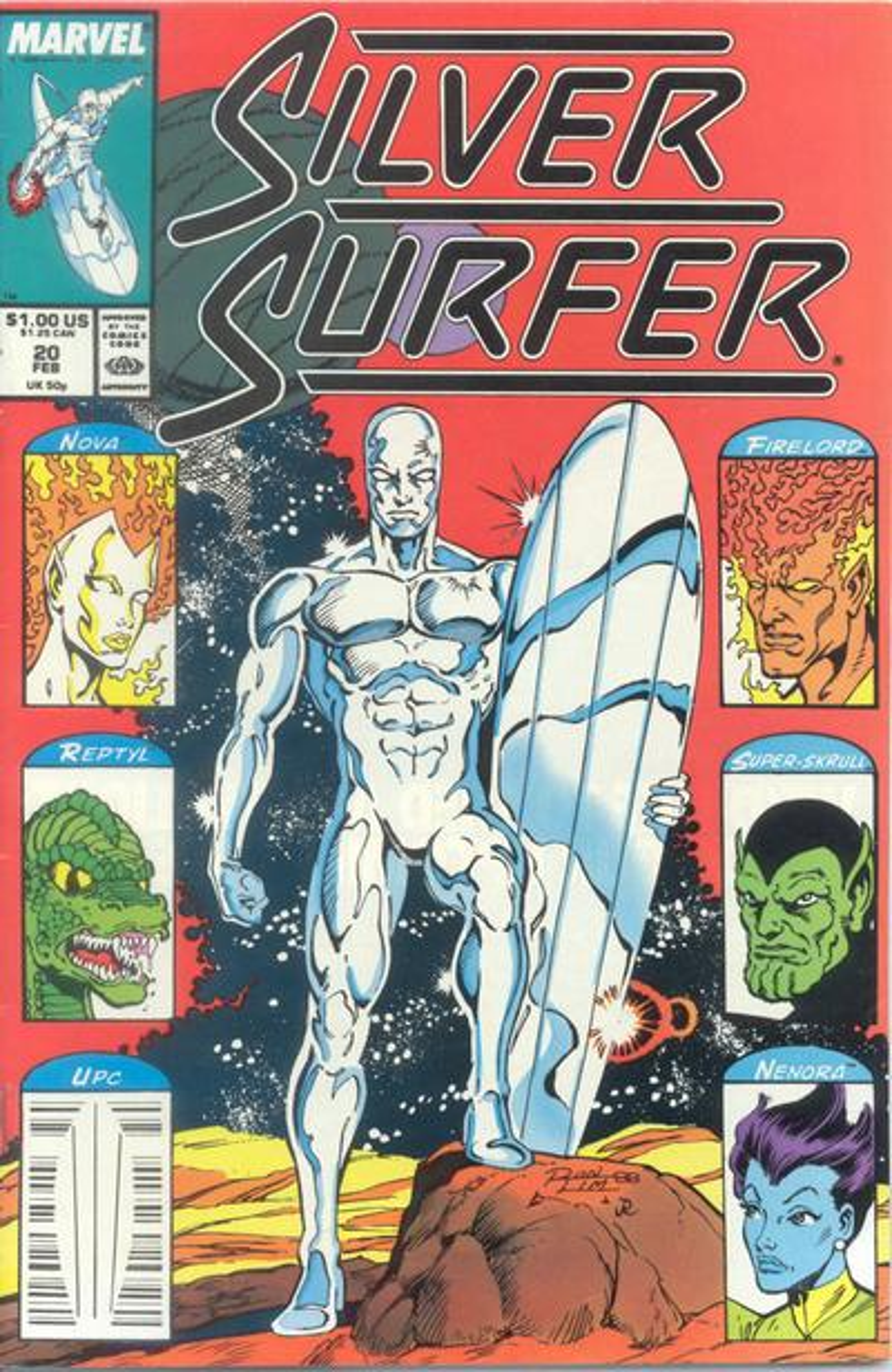 Silver Surfer Vol 3 20