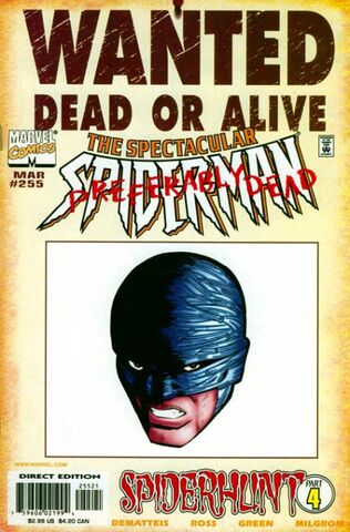 File:Spectacular Spider-Man Vol 1 255 Wanted Poster Variant.jpg