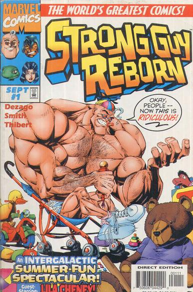 Image result for Strong Guy Reborn #1 comic
