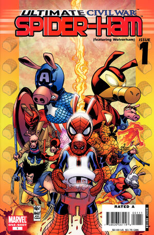 Ultimate Civil War Spider-Ham Vol 1 1
