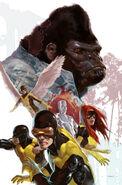 X-Men First Class Vol 1 8 Textless