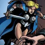 Brunnhilde (Earth-11735) from New Mutants Vol 3 25 0001