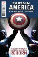 Captain America - Who Will Wield the Shield? Vol 1 1