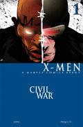 Civil War X-Men Vol 1 1