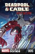 Deadpool & Cable Split Second Infinite Comic Vol 1 5