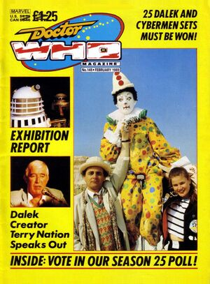 Doctor Who Magazine Vol 1 145