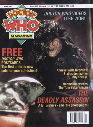 Doctor Who Magazine Vol 1 187
