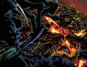 Jonathan Storm and Annihilation Wave (Earth-616) from Fantastic Four Vol 1 587 0001