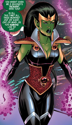 Lyja (Earth-616) from Secret Invasion Fantastic Four Vol 1 2 001
