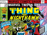 Marvel Two-In-One Vol 1 34