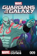 Marvel Universe Guardians of the Galaxy Infinite Comic Vol 1 9