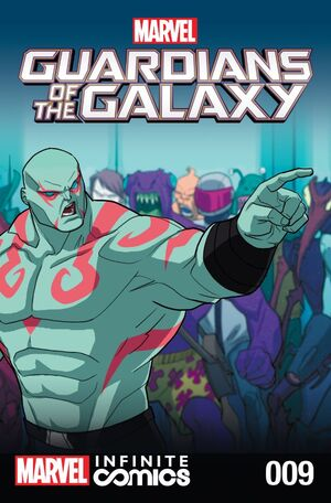 Marvel Universe Guardians of the Galaxy Infinite Comic Vol 1 9