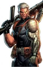 Nathan Summers (Earth-616) from Cable Vol 2 17 70th Anniversary Frame Variant Cover