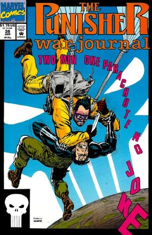 Punisher War Journal Vol 1 38