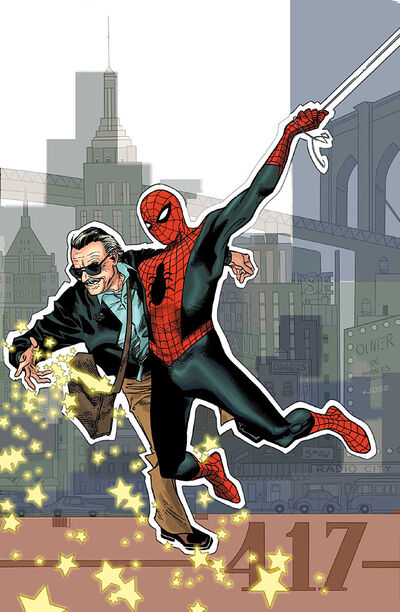 Stan Lee Meets the Amazing Spider-Man Vol 1 1 Textless