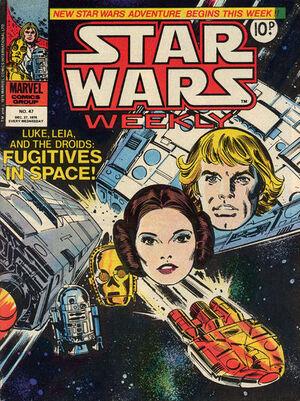 Star Wars Weekly (UK) Vol 1 47